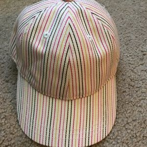 Madewell rainbow Hat
